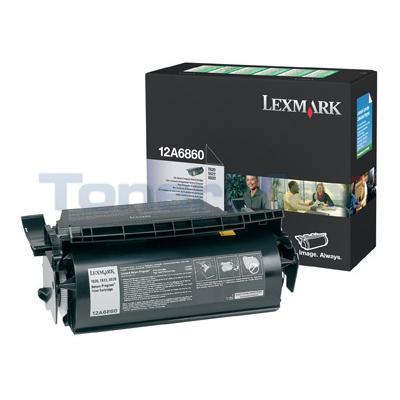 LEXMARK T620 TONER CARTRIDGE BLACK RP 10K